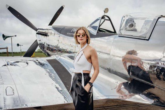 Rosamund Pike 2019 : Rosamund Pike – Celebration of the official start of the Silver Spitfire-01
