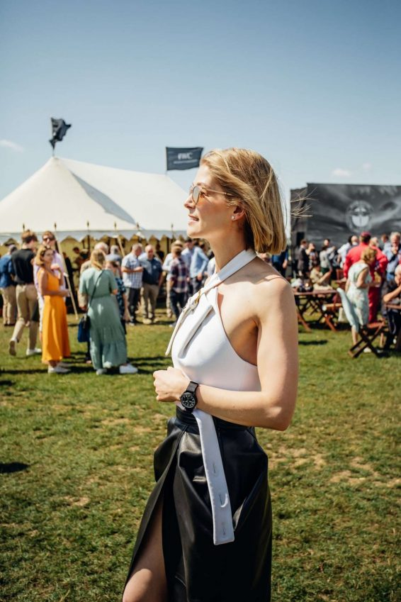 Rosamund Pike 2019 : Rosamund Pike – Celebration of the official start of the Silver Spitfire-02