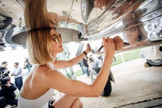 Rosamund Pike 2019 : Rosamund Pike – Celebration of the official start of the Silver Spitfire-05