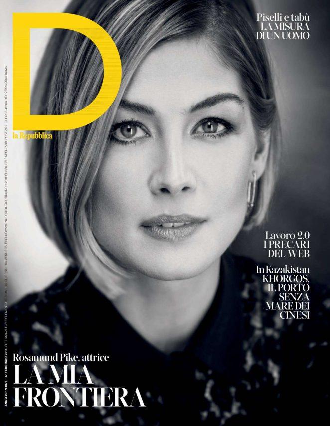 Rosamund Pike - D la Repubblica Magazine (February 2018)