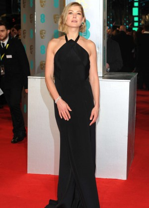 Rosamund Pike - 2015 BAFTA Awards in London