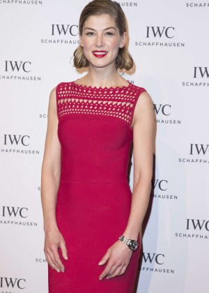Rosamund Pike - Gala Dinner Photocall as Part of SIHH in Geneva