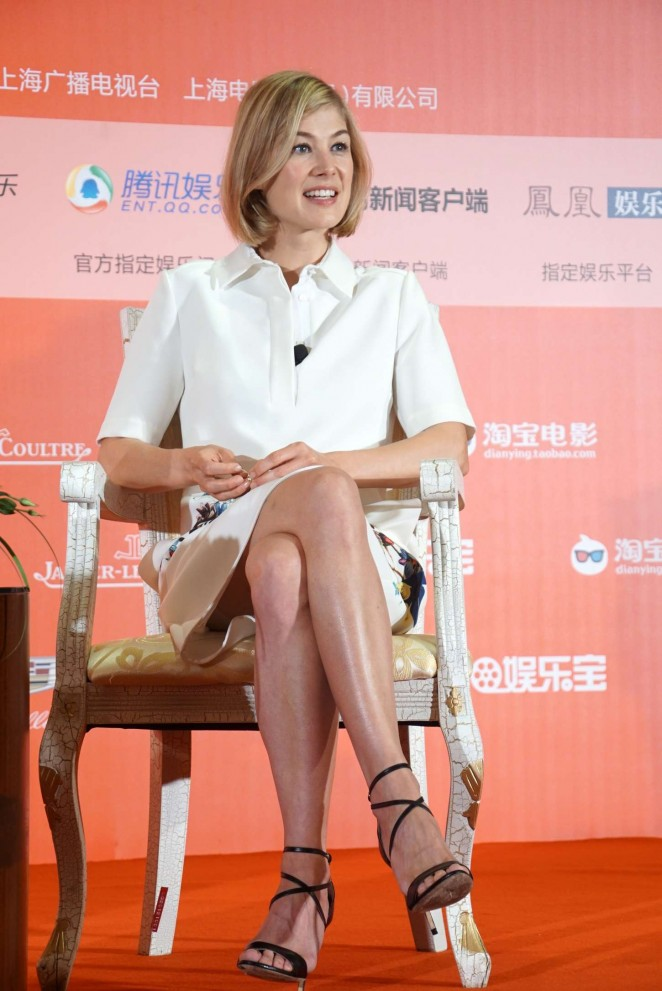Rosamund Pike - 'Gone Girl' Press Conference in Shanghai