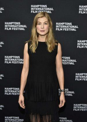 Rosamund Pike - Hamptons International Film Festival 2018 in NY