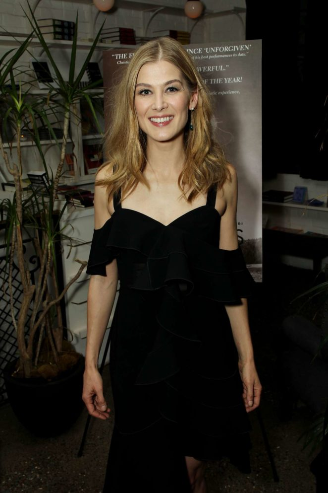Rosamund Pike - 'Hostiles' Premiere After Party in NYC