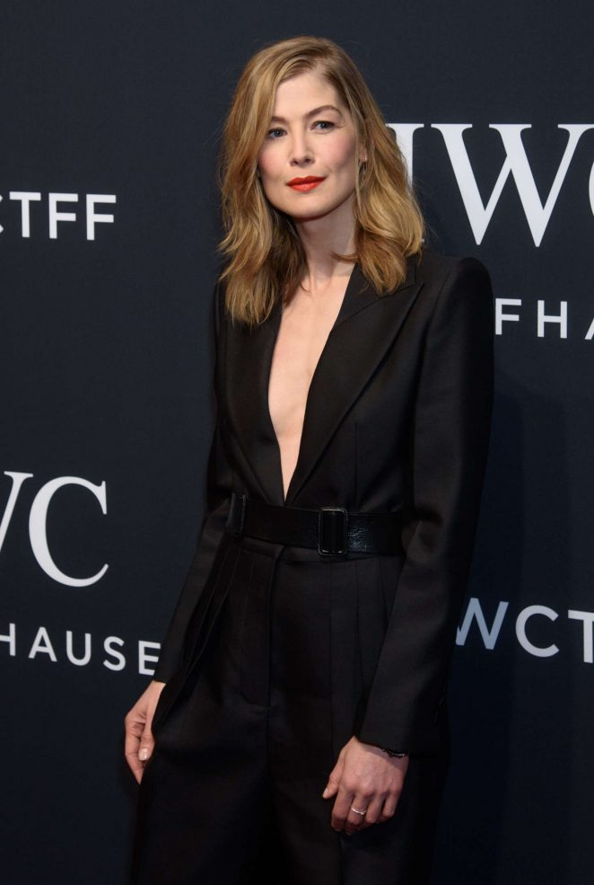 Rosamund Pike - IWC Schaffhausen 5th Annual For the Love of Cinema Gala in NY