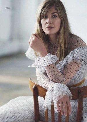 Rosamund Pike - Marie Claire UK Magazine (January 2019)