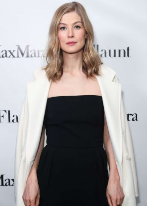 Rosamund Pike - Max Mara x Flaunt Dinner in Los Angeles