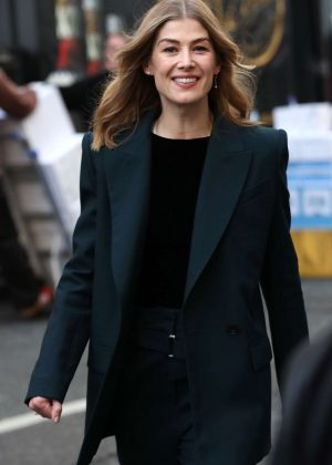Rosamund Pike - Out and about in London