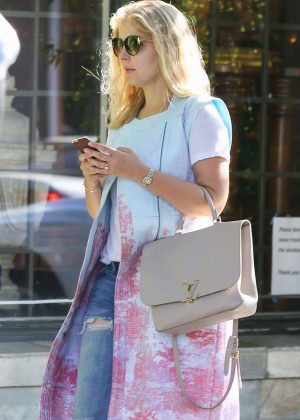 Rosamund Pike out in West Hollywood