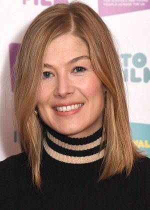 Rosamund Pike - Photocall to launch the Into Film Festival in London