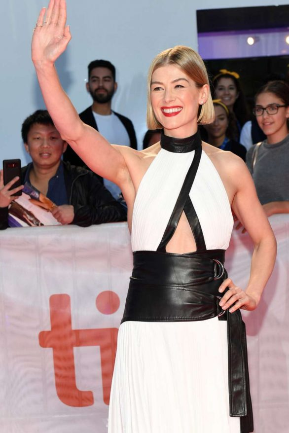 Rosamund Pike - 'Radioactive' Premiere - Toronto International Film Festival 2019