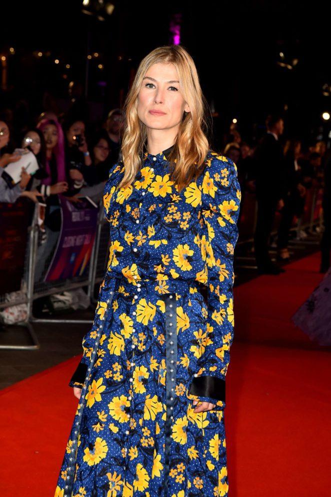 Rosamund Pike - 'Three Billboards Outside Ebbing Missouri' Premiere at 2017 BFI London Film Festival