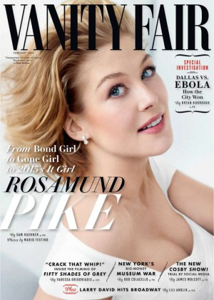 Rosamund Pike - Vanity Fair Cover Magazine (February 2015)