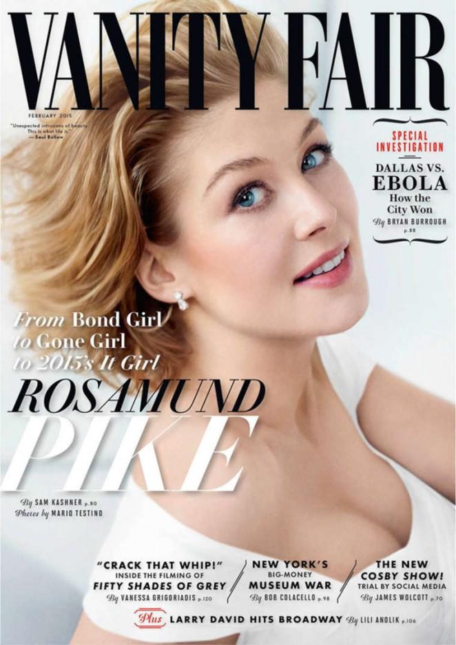 Rosamund Pike - Vanity Fair Cover Magazine (February 2015)