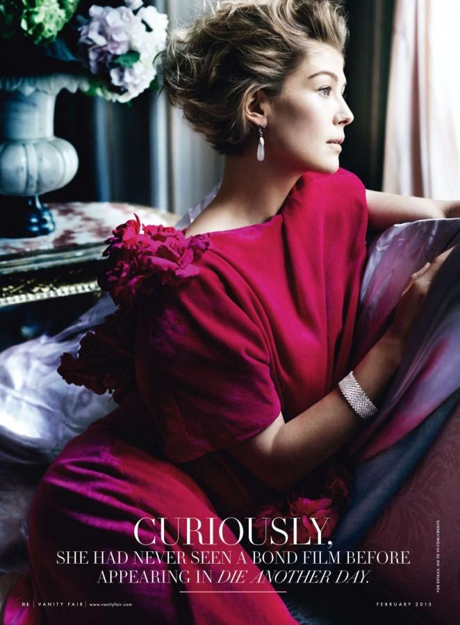 Rosamund Pike - Vanity Fair Magazine (February 2015)