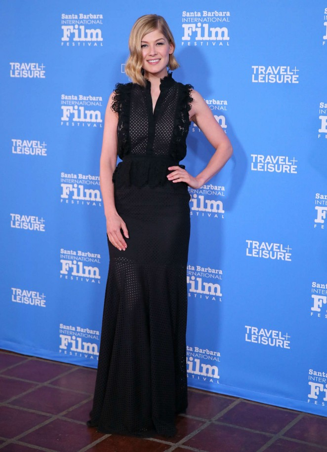 Rosamund Pike: Virtuosos Award 2015 Santa Barbara International Film Festival -01