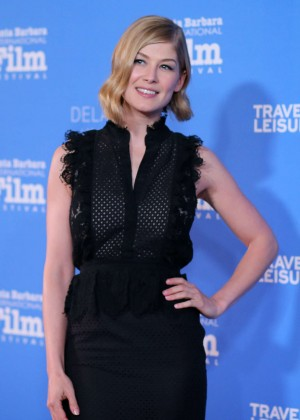 Rosamund Pike - Virtuosos Award 2015 Santa Barbara International Film Festival
