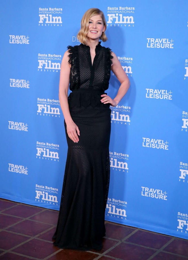 Rosamund Pike: Virtuosos Award 2015 Santa Barbara International Film Festival -12