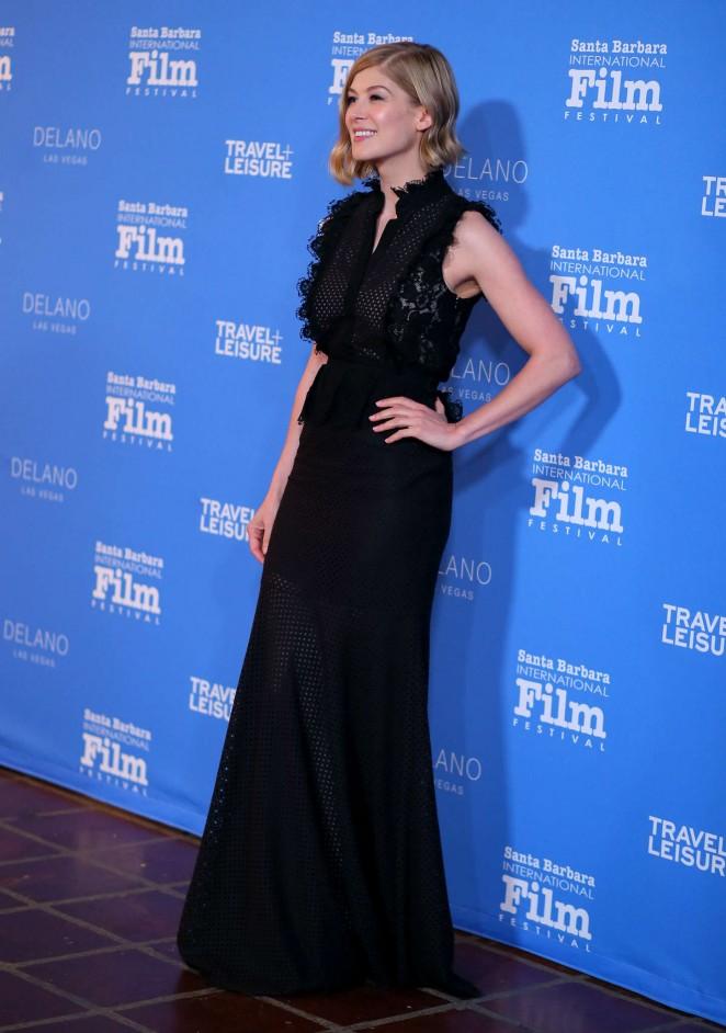 Rosamund Pike: Virtuosos Award 2015 Santa Barbara International Film Festival -14