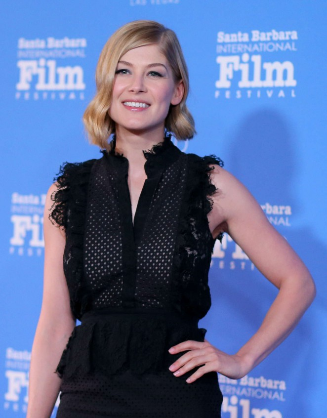 Rosamund Pike: Virtuosos Award 2015 Santa Barbara International Film Festival -15