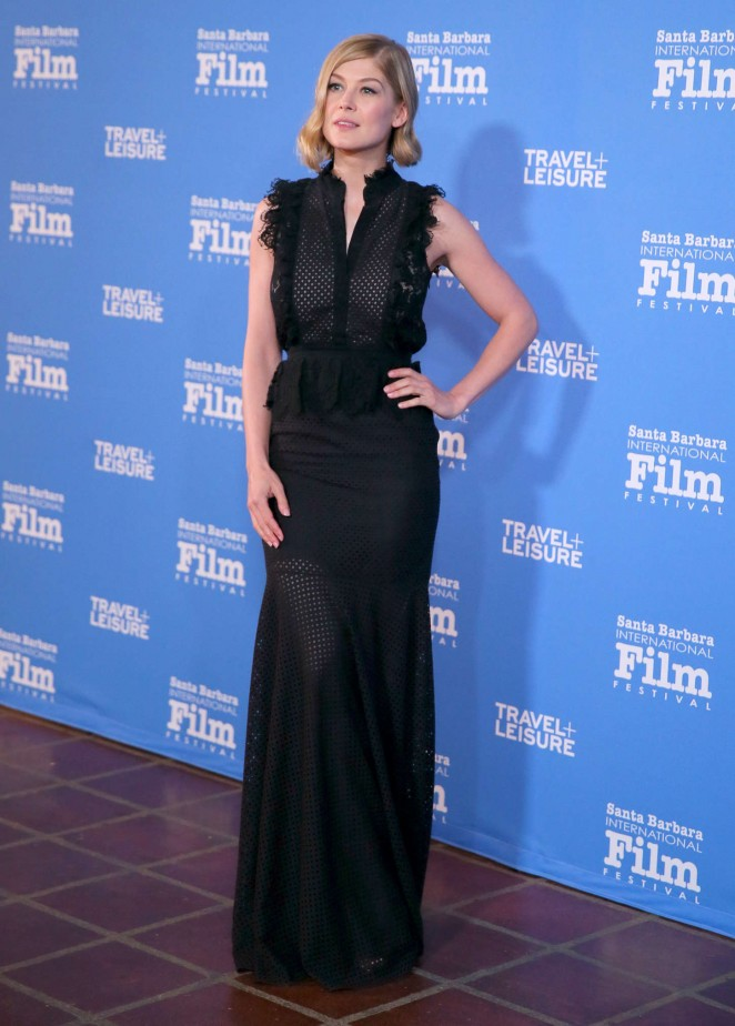 Rosamund Pike: Virtuosos Award 2015 Santa Barbara International Film Festival -16