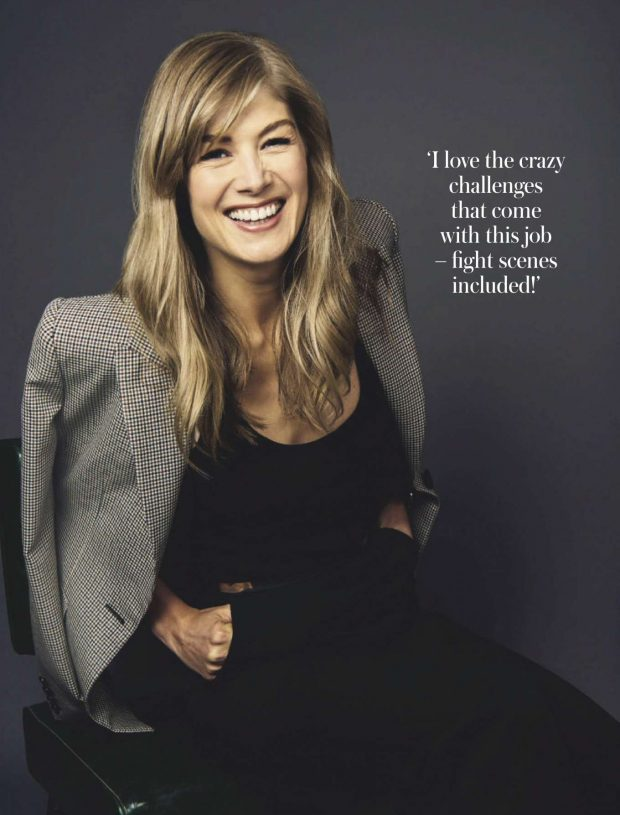 Rosamund Pike - Woman & Home South Africa Magazine (June 2019)