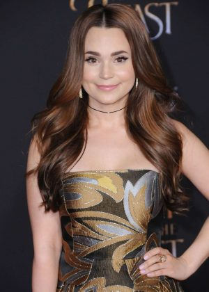 Rosanna Pansino - 'Beauty and the Beast' Premiere in Los Angeles