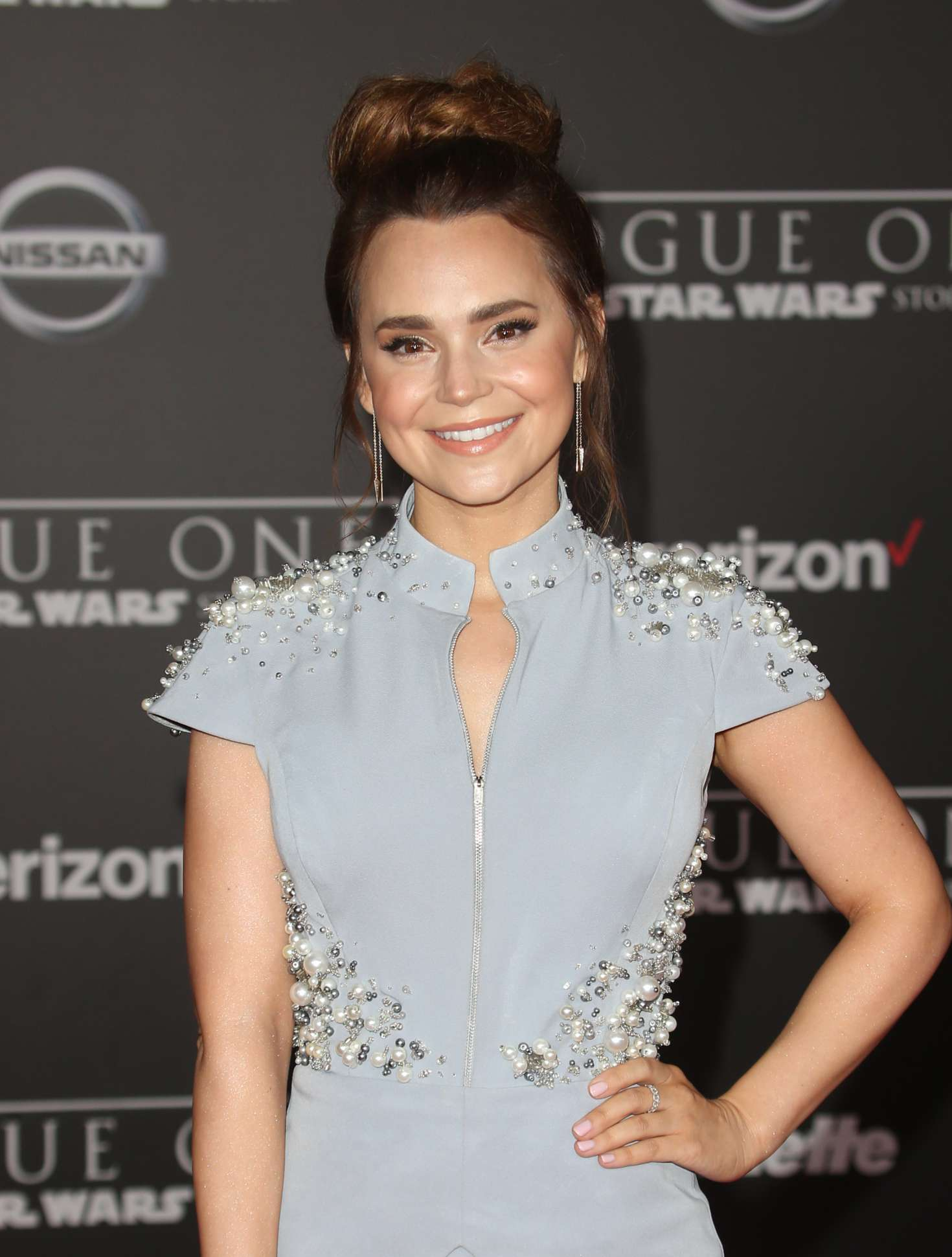 Rosanna Pansino - 'Star Wars Rouge One' Premiere in Hollywood