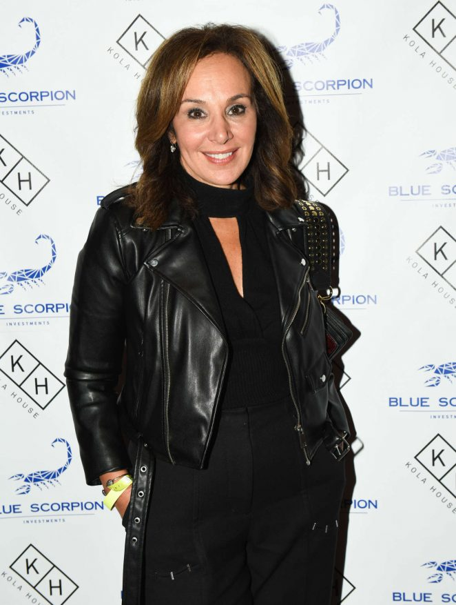 Rosanna Scotto - Blue Scorpion 1yr Anniversary Party in New York