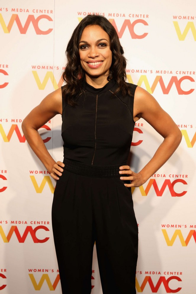 Rosario Dawson - 2015 Women's Media Awards in New York City