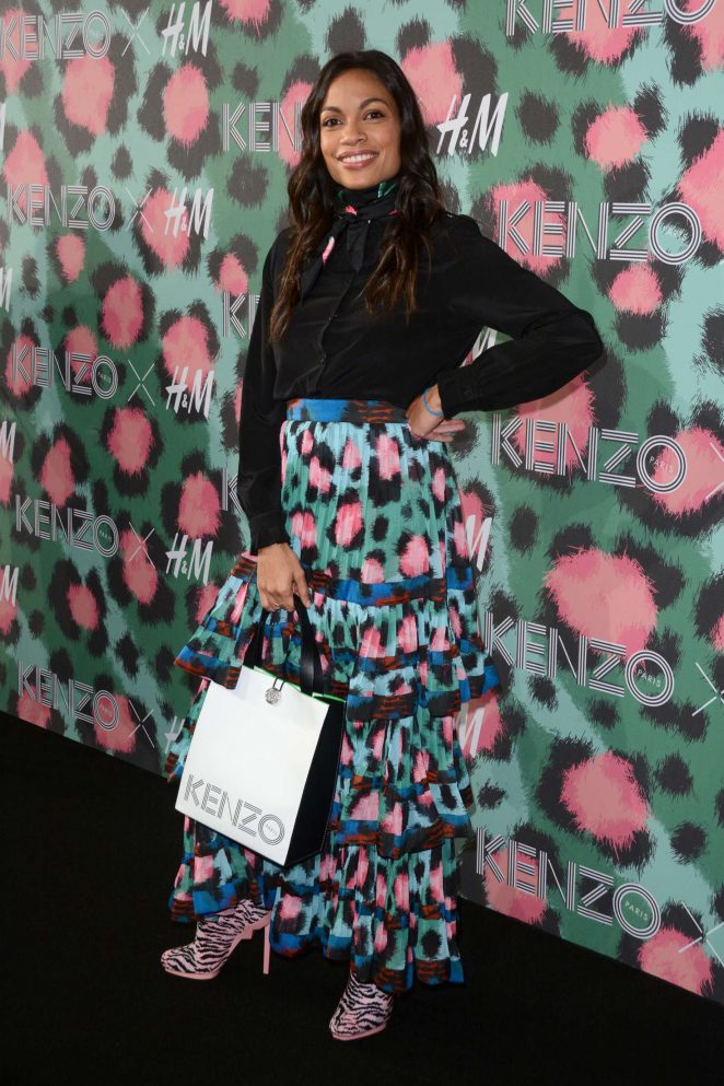Rosario Dawson - 2016 Kenzo x H&M Show in New York