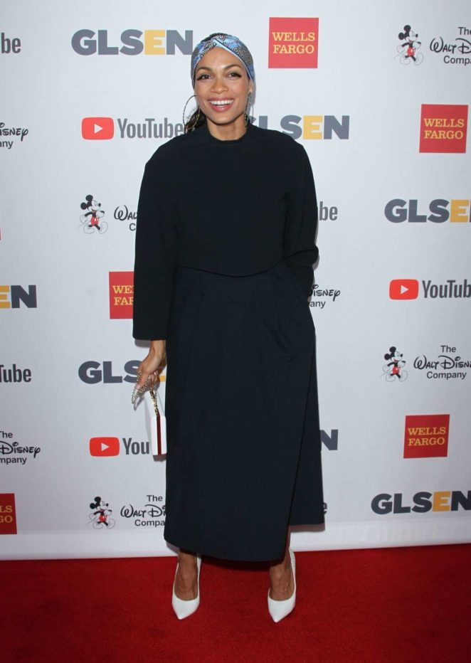 Rosario Dawson - 2017 GLSEN Respect Awards in Los Angeles