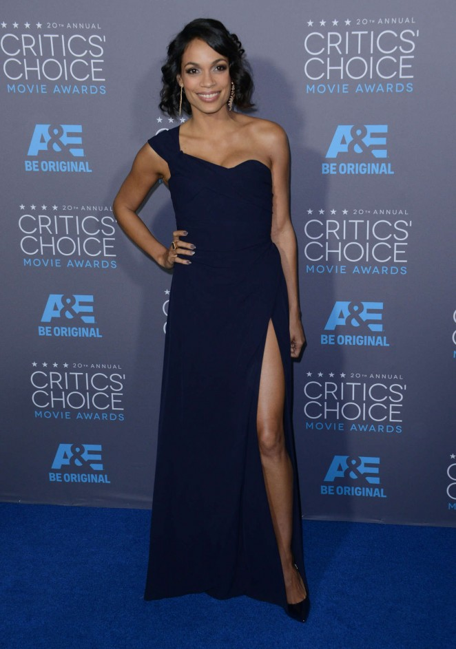 Rosario Dawson - 2015 Critics Choice Movie Awards in LA