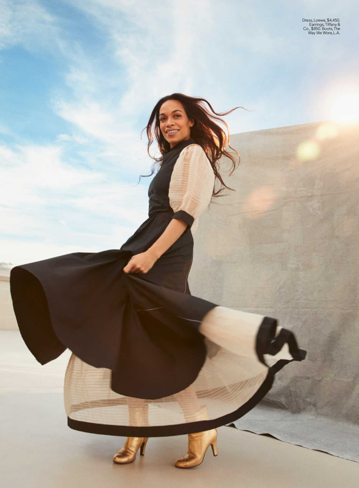 Rosario Dawson - Elle Magazine (USA April 2020)