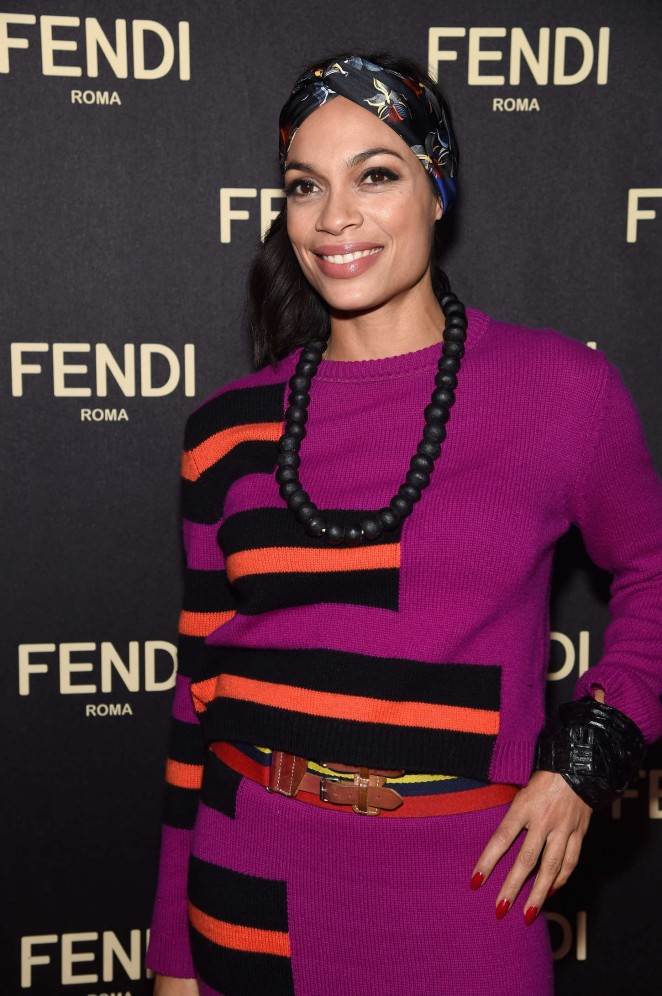 Rosario Dawson - Fendi New York Flagship Boutique Inauguration Party in NYC