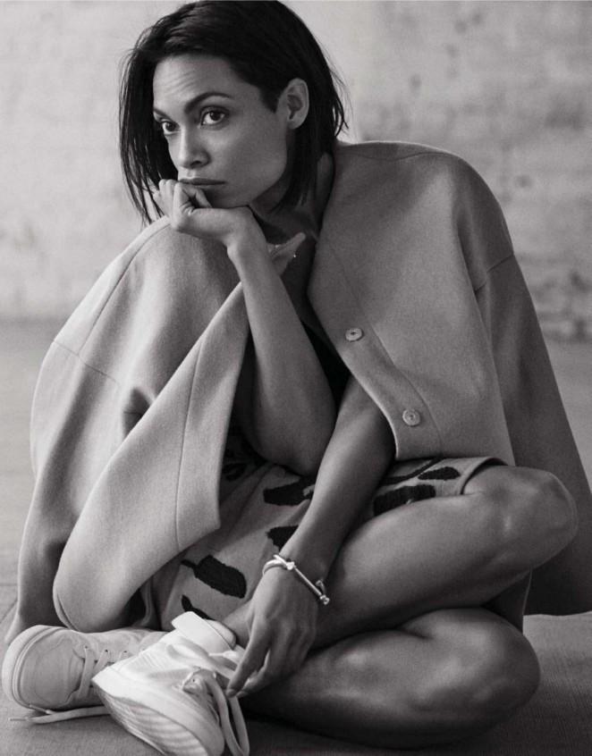 Rosario Dawson - Grazia France Magazine (January 2015)