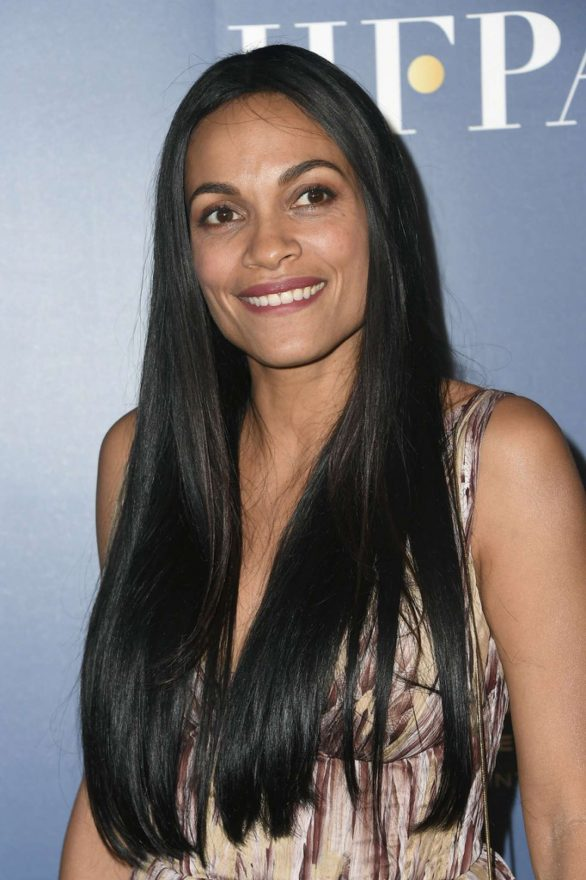 Rosario Dawson - HFPA x The Hollywood Reporter party in Toronto
