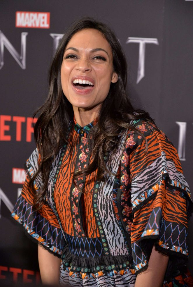 Rosario Dawson – 'Iron Fist' TV Series Premiere in New York