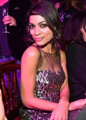 Rosario Dawson - Lambertz Monday Night Chocolate & Fashion Party in Cologne