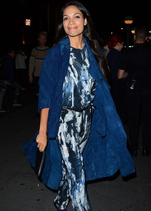 Rosario Dawson - New York Fashion Week Opening Ceremony