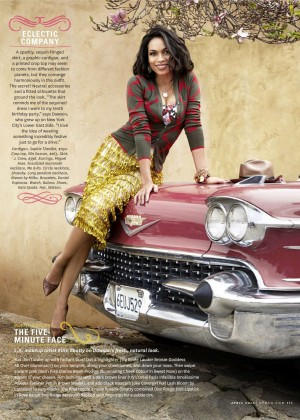 Rosario Dawson - O, The Oprah US Magazine (April 2015)