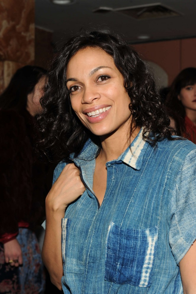 Rosario Dawson - Opening Ceremony after party at 2016 New York Fashion Week
