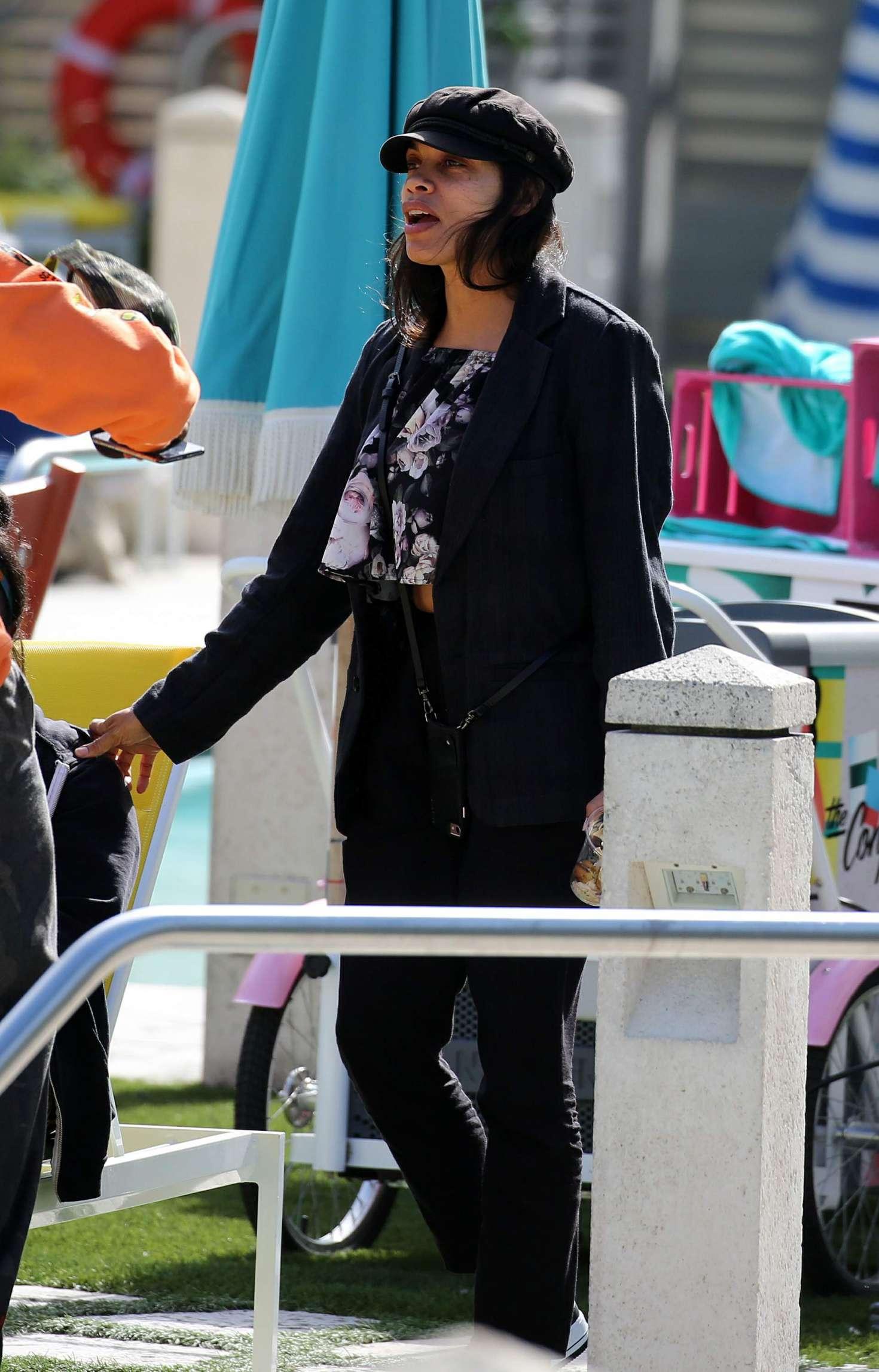 Rosario Dawson 2018 : Rosario Dawson: Out in Miami -03