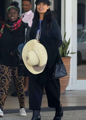 Rosario Dawson - Out in Miami