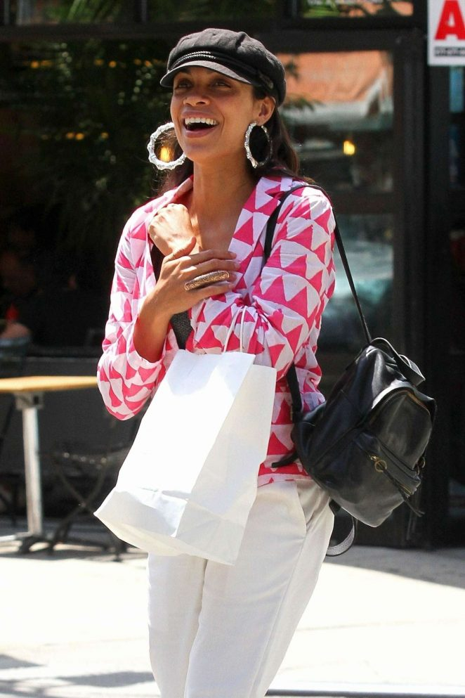 Rosario Dawson - Out in New York