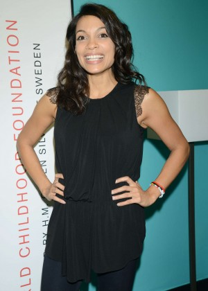 Rosario Dawson - ThankYou By Childhood USA Advocacy Campaign in NYC