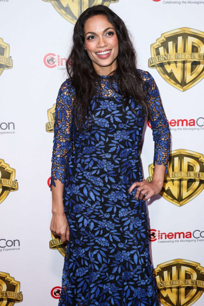 Rosario Dawson - The Big Picture Presentation at 2017 CinemaCon in Las Vegas