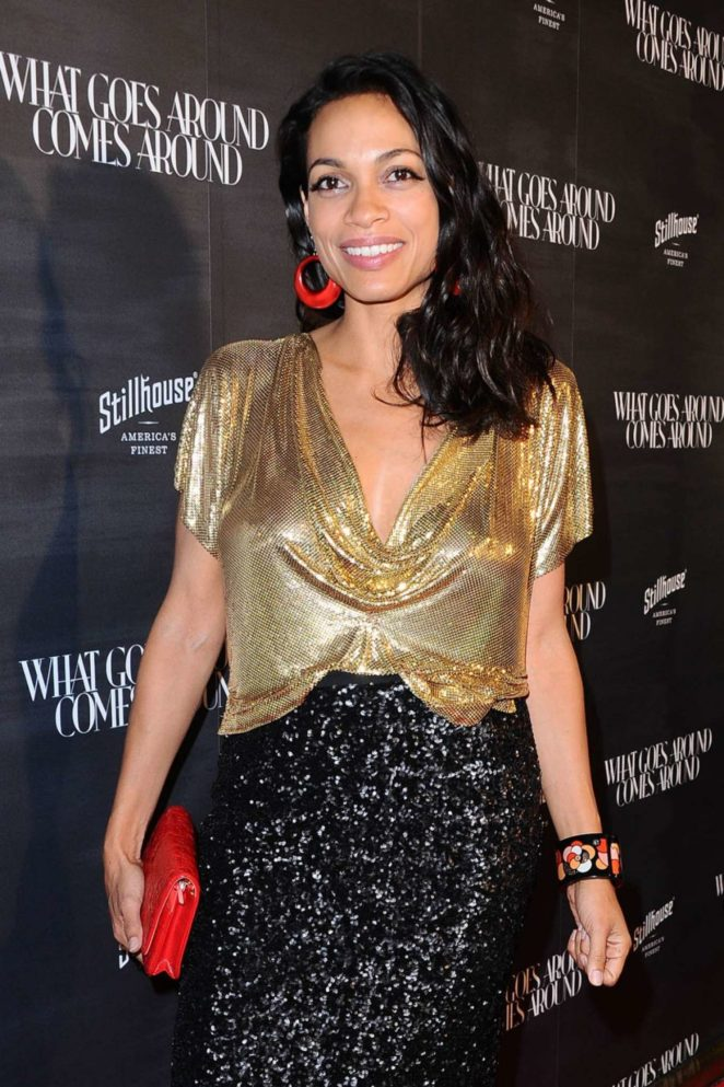 Rosario Dawson - What Goes Around Comes Around One Year Anniversary in LA
