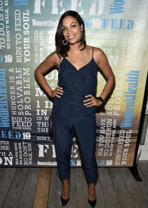 Rosario Dawson - Women's Health's 4th Annual Party Under The Stars in NY